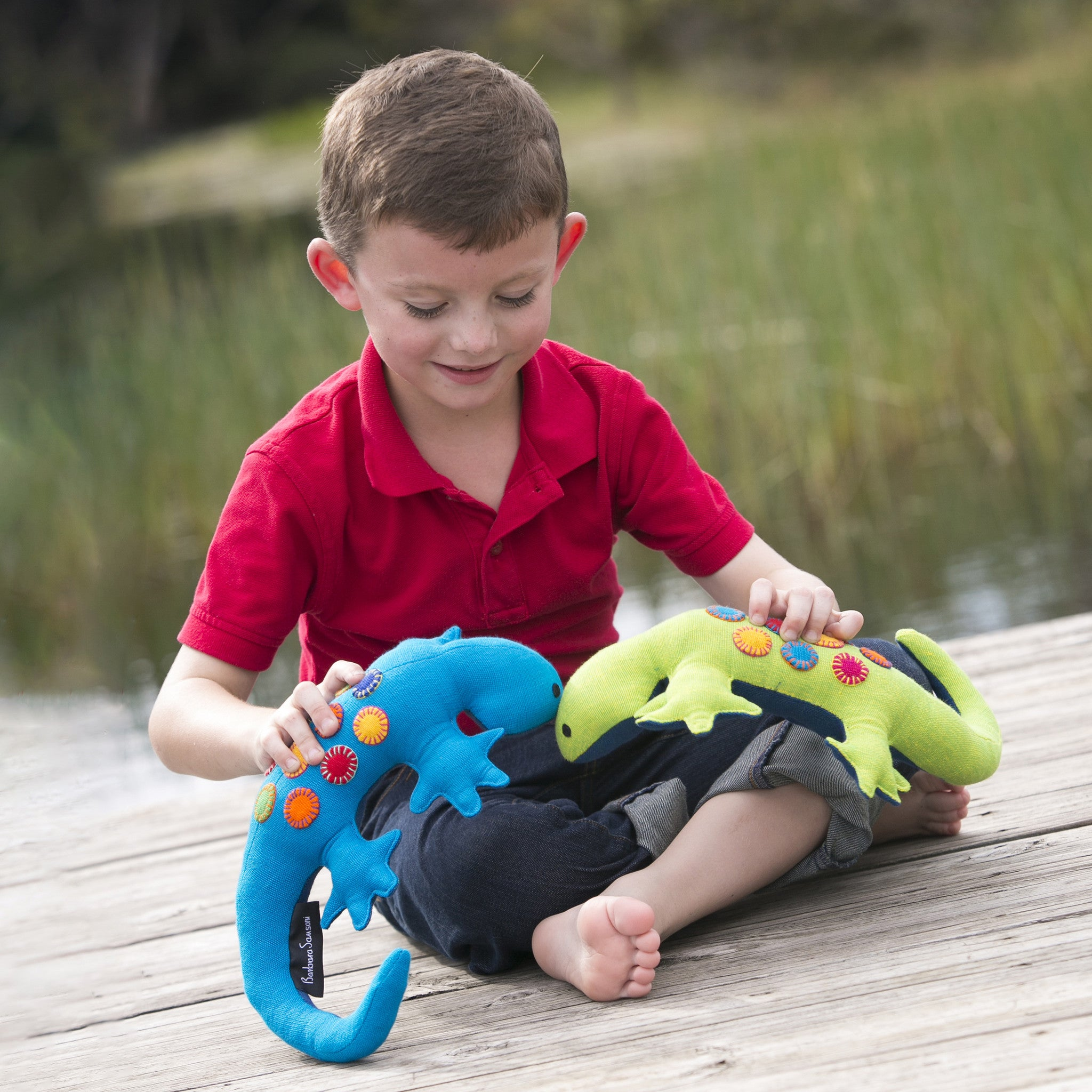 One of a kind lizard toys to play with!