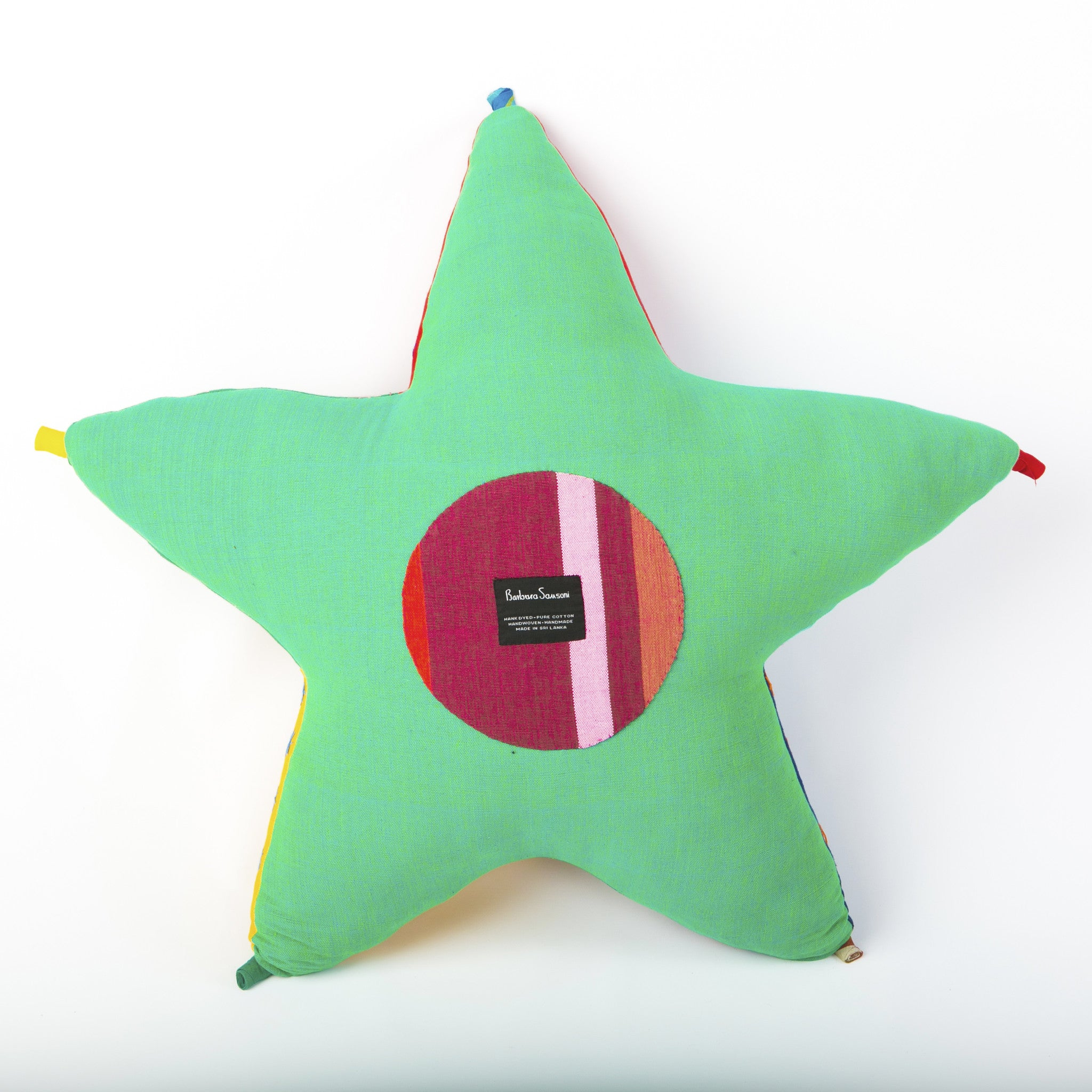 Stella, the Starfish (back view, shamrock green color)