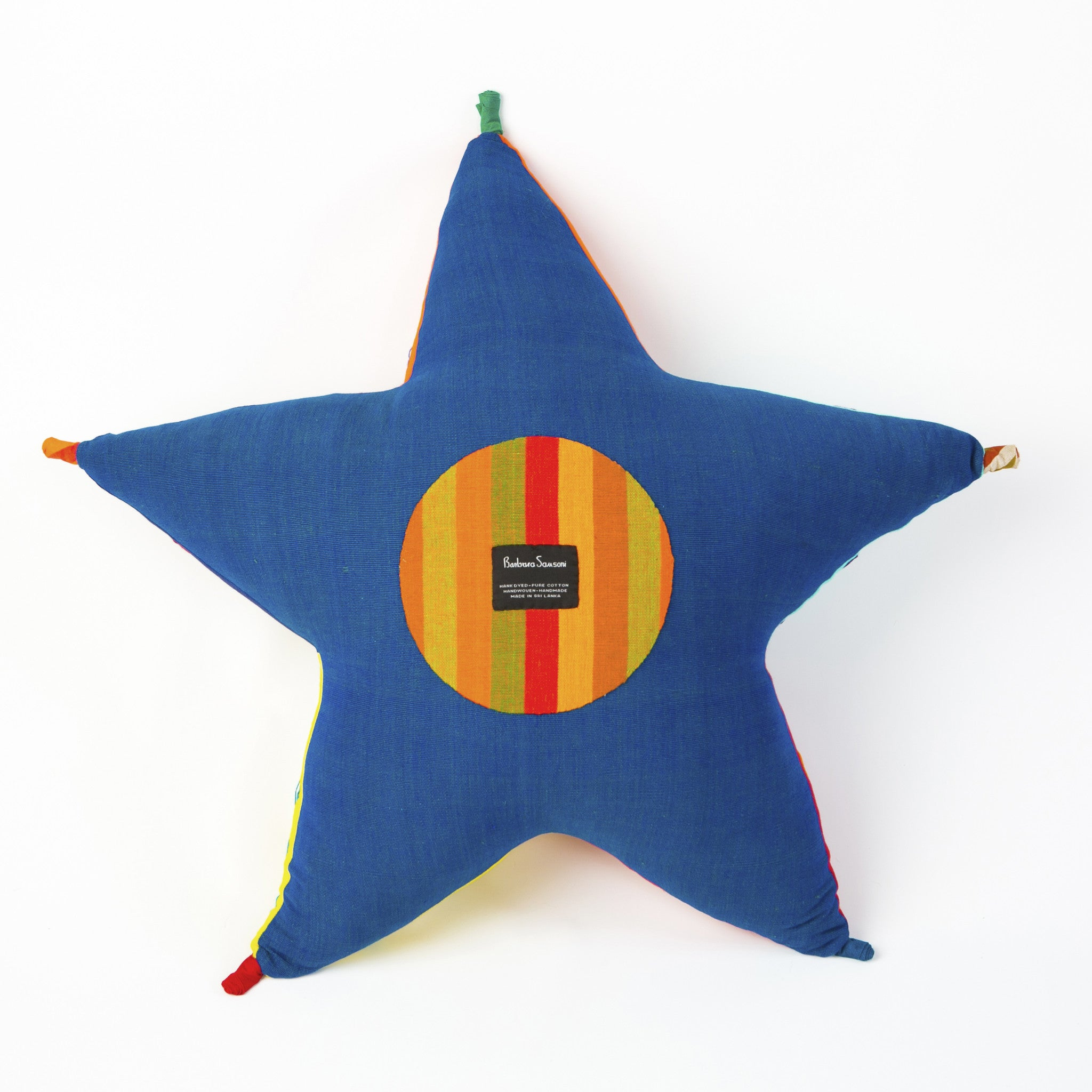Stella, the Starfish (back view, royal blue color)