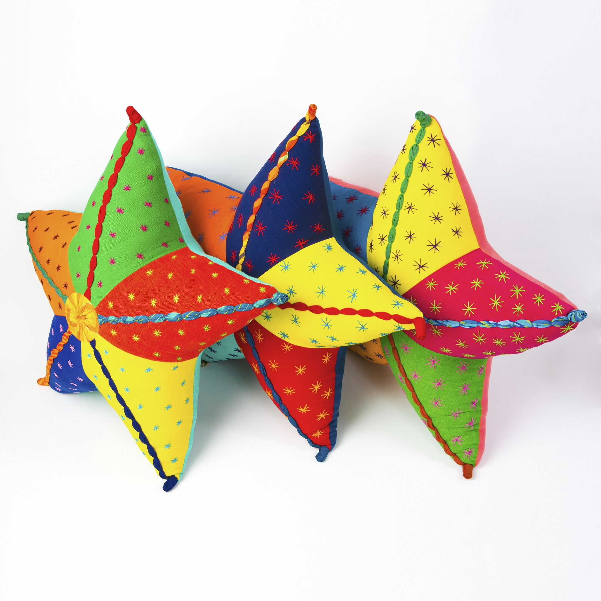 Stella, the Starfish (front view, group of 3, sample backs)
