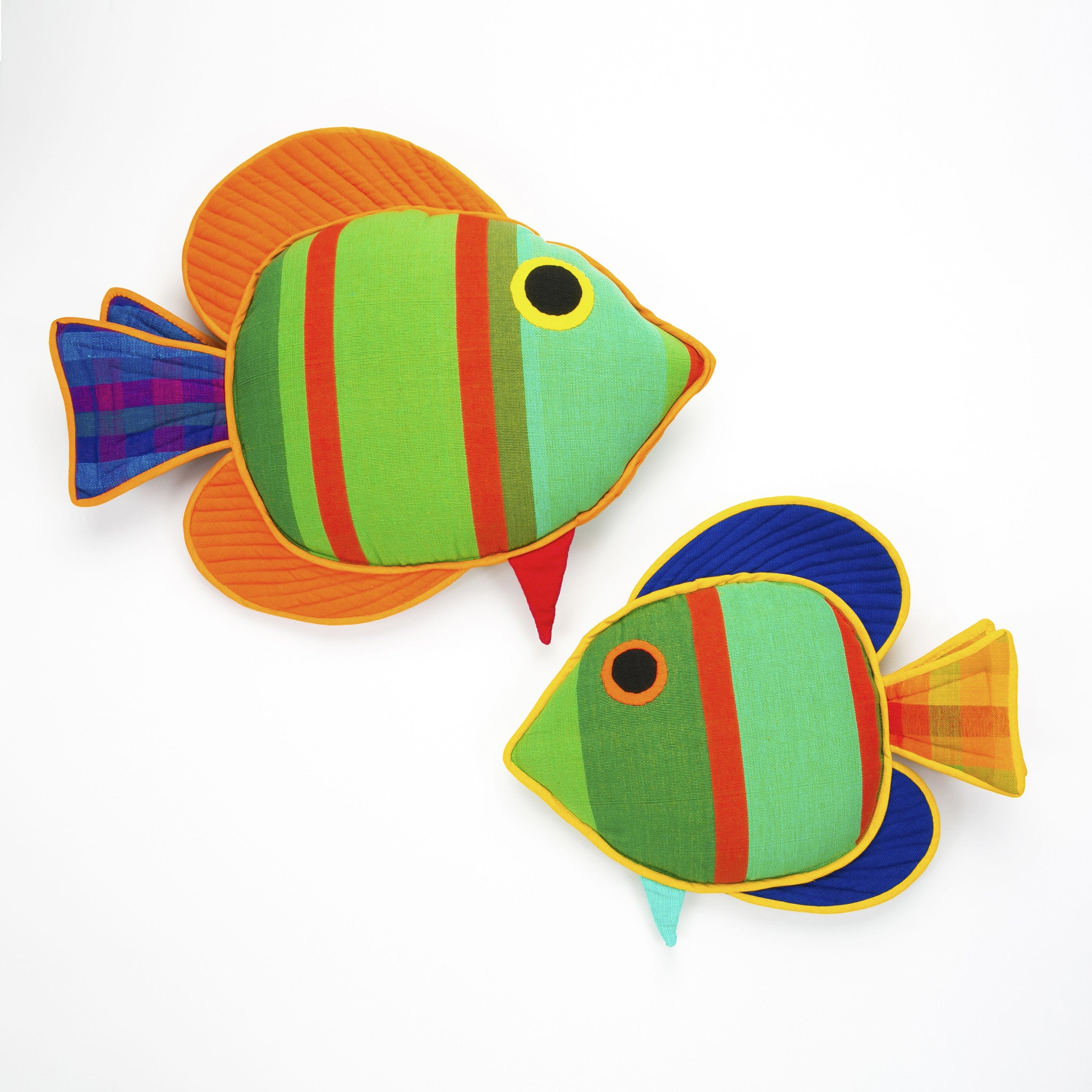 Quincy, the Sail Fin Fish (small & large sizes)