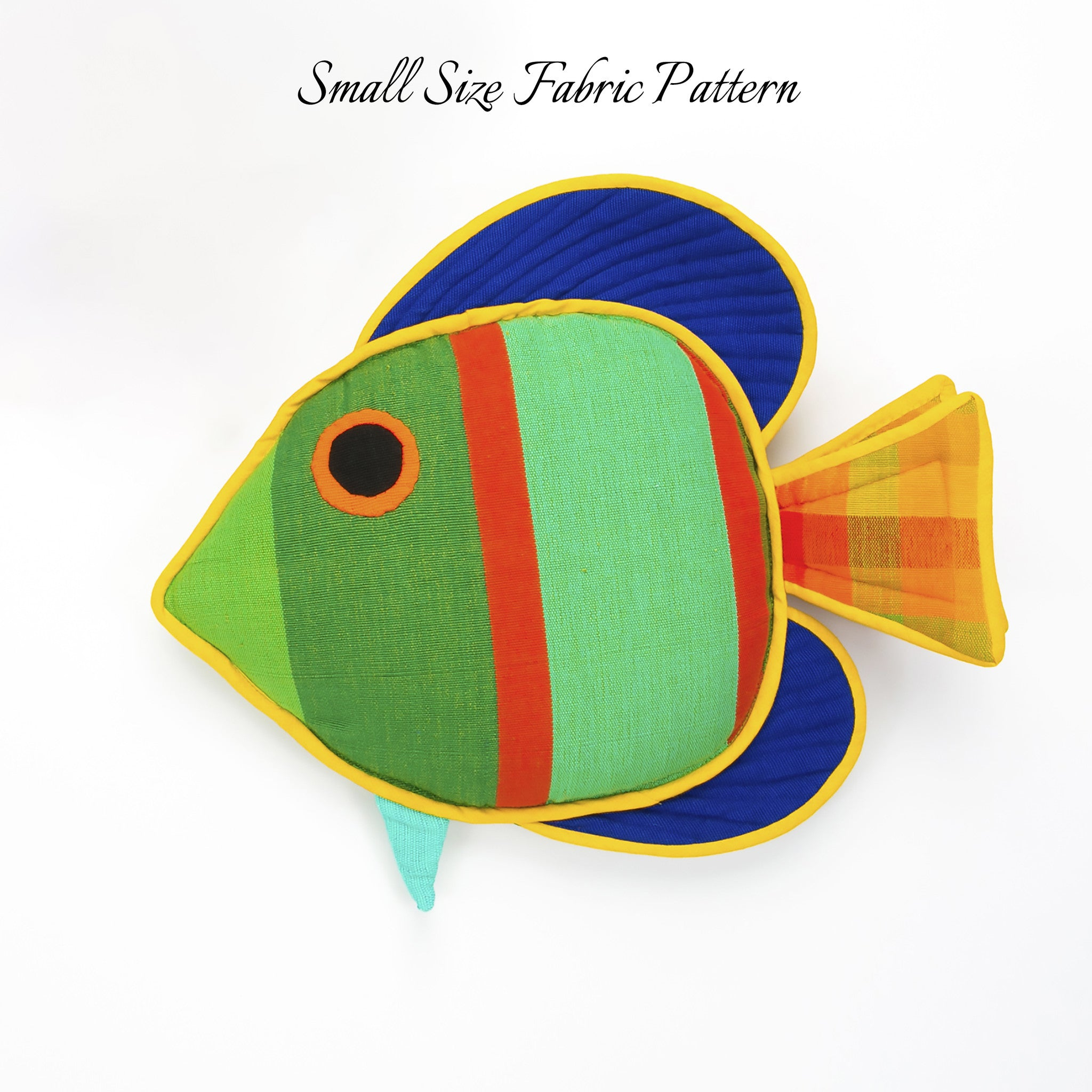 Quincy, the Sail Fin Fish (small size)