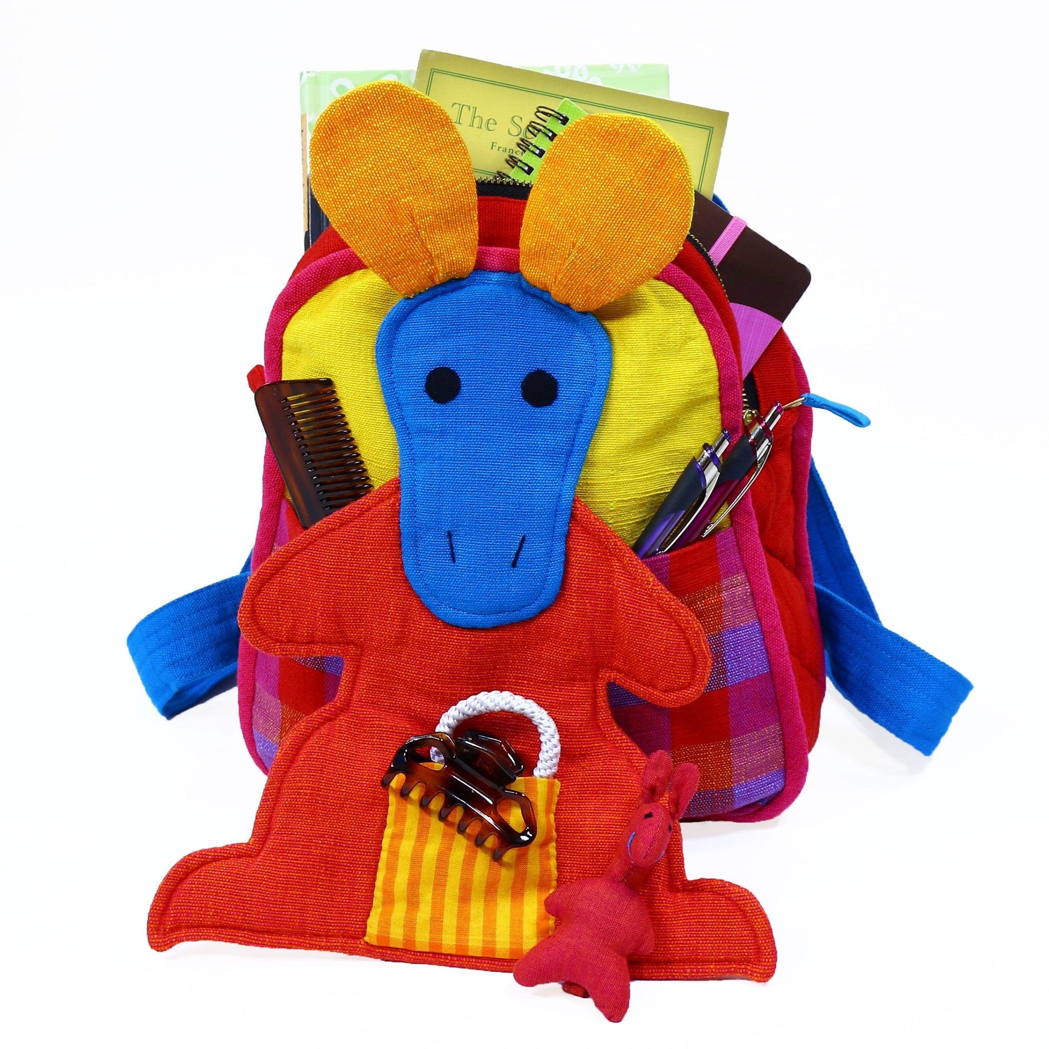 Kangaroo Backpack – very cute and holds a lot!