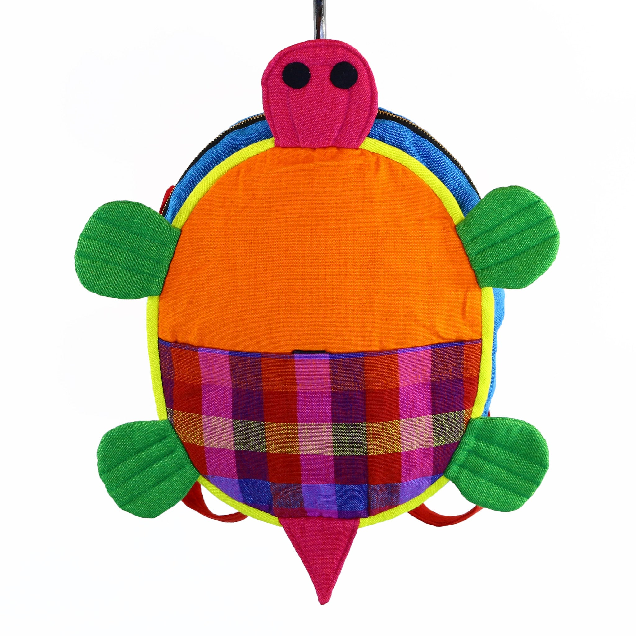 Turtle Backpack – Fireworks fabric
