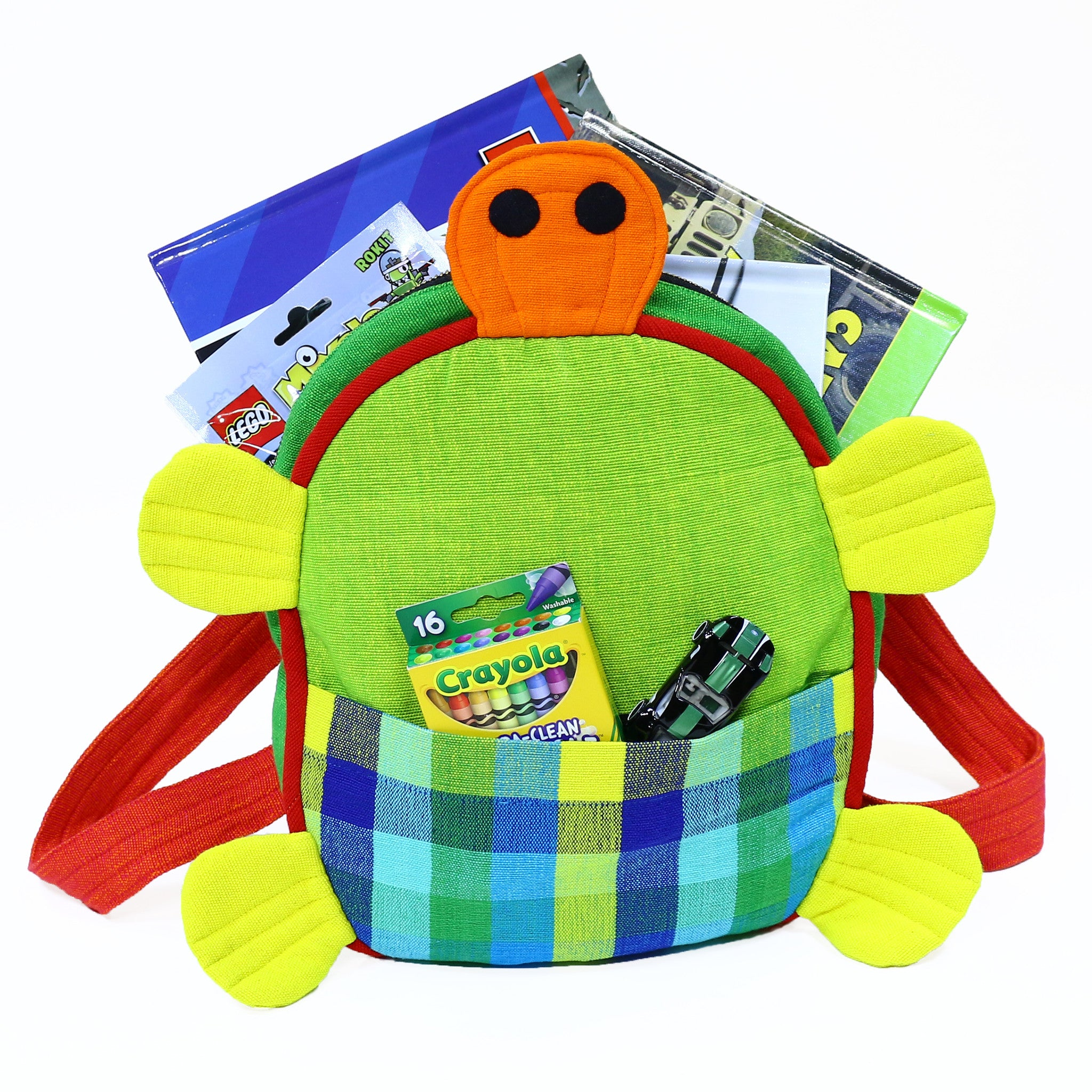 Turtle Backpack – very cute and holds a lot!
