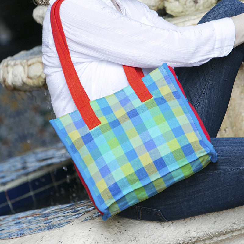 The Easy Breezy Tote - Perfect for a day on the town! (sample fabric shown)