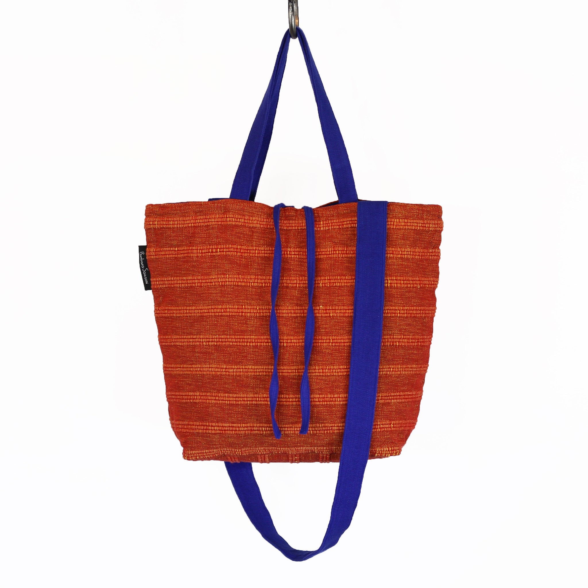 The Everyday Crossbody/Tote – Coral Reef fabric shown