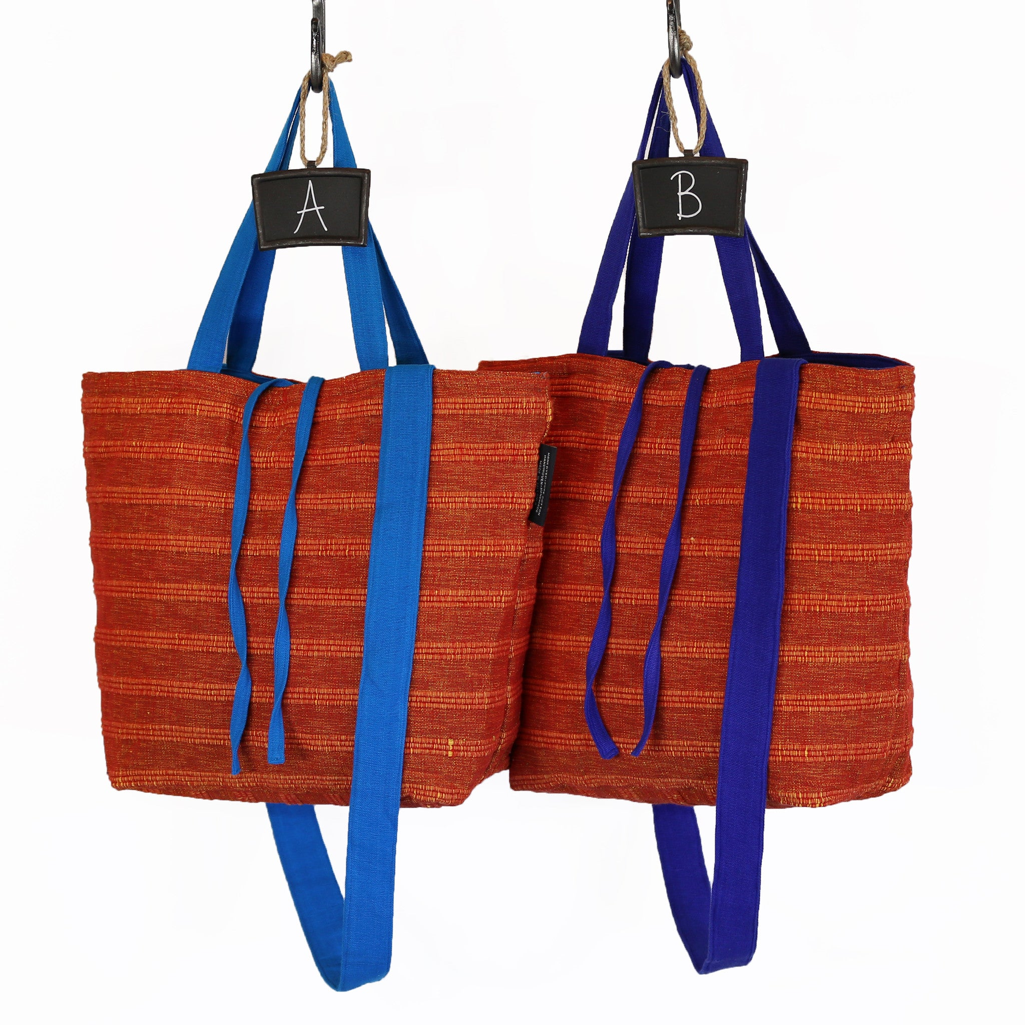 The Everyday Crossbody/Tote – All Coral Reef fabric patterns shown