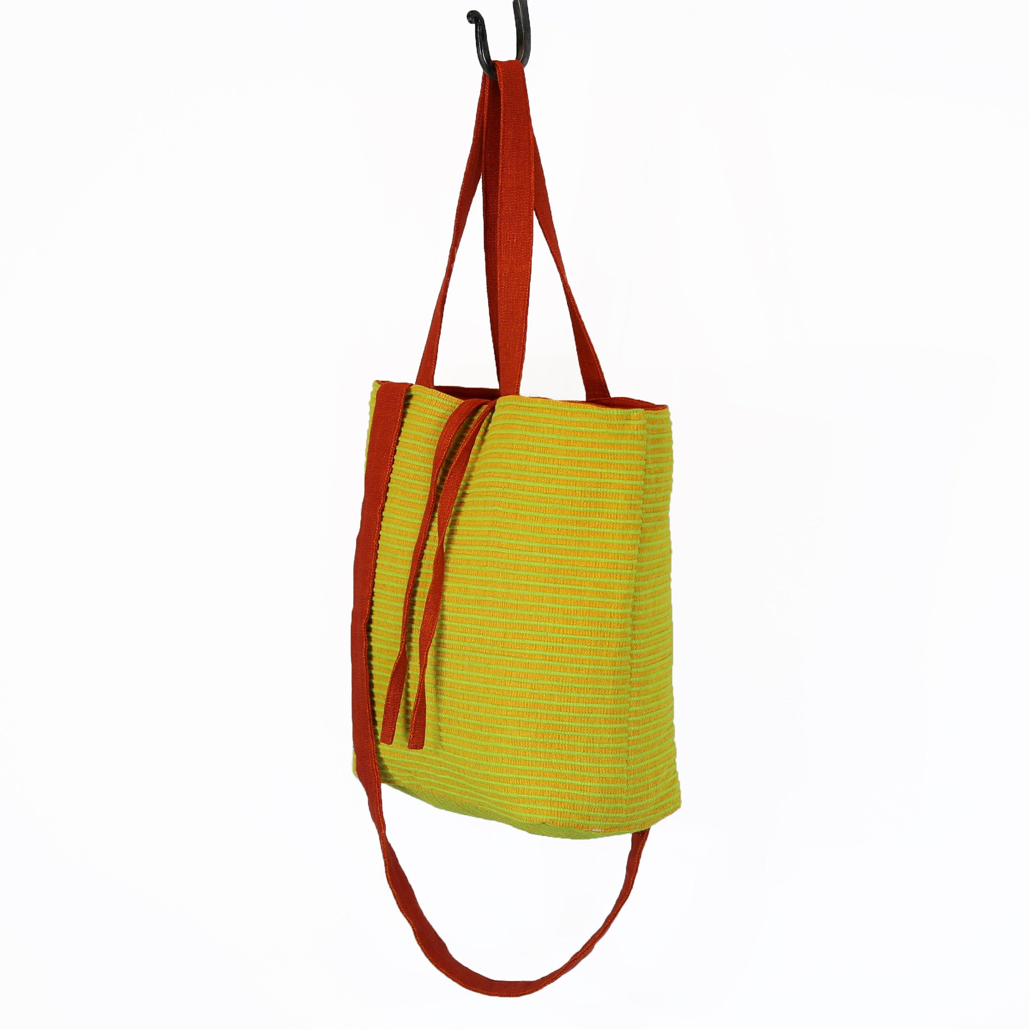The Everyday Crossbody/Tote – Lemonaide fabric shown