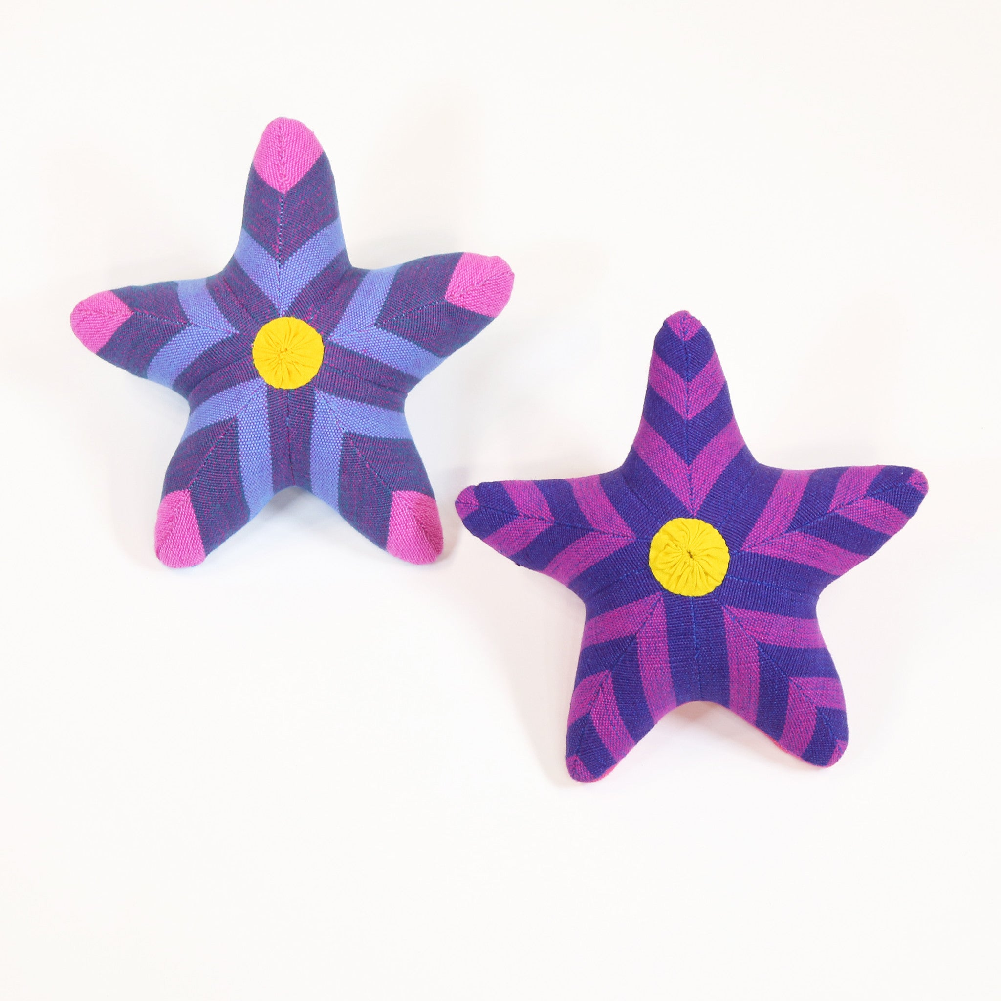Sybil, the Starfish – all patterns (front view)