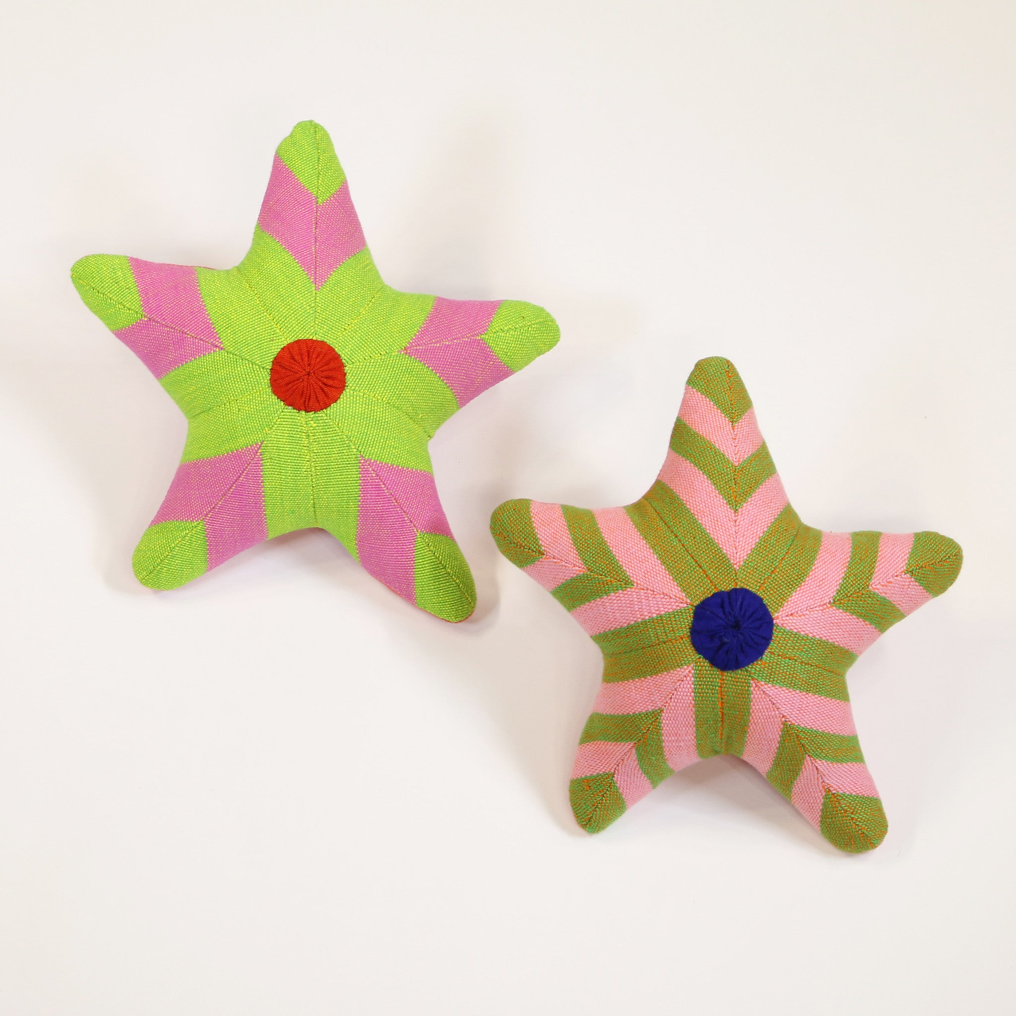 Stacey, the Starfish – all patterns (front view)