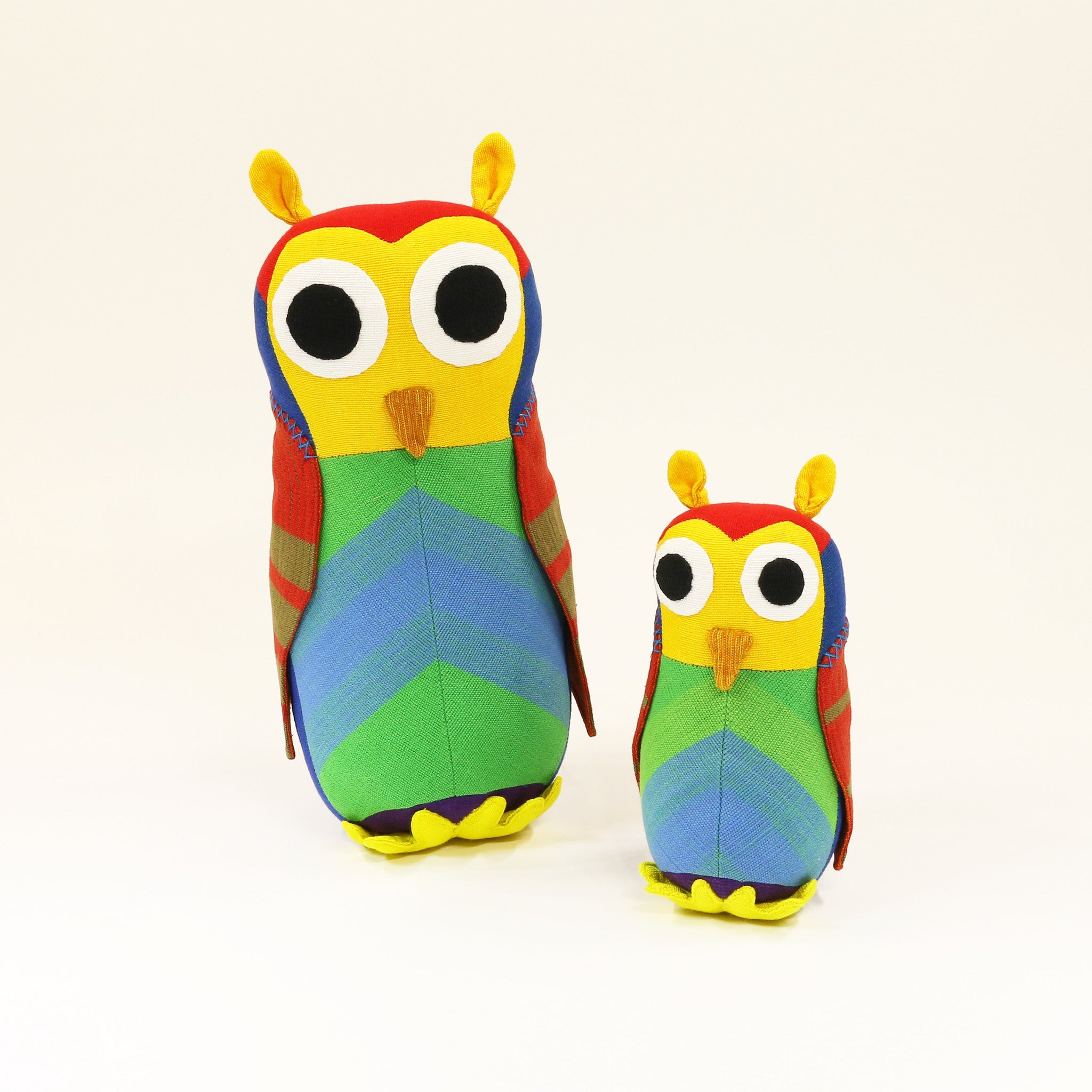Owl Toy - Harvey, the Owl (small & large sizes)