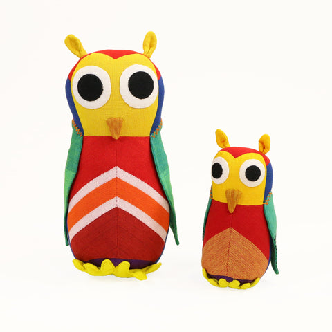 Owl Toy - Holly the Owl (small u0026 large sizes) & Owl Toys by Barefoot - Lionheart Imports