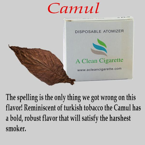 5-Pack of Camul Tobacco Cartridges