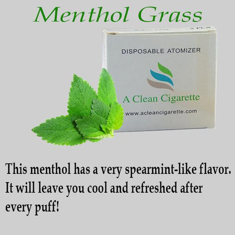 5-Packs Menthol Grass Cartridges (#1 Best selling menthol)
