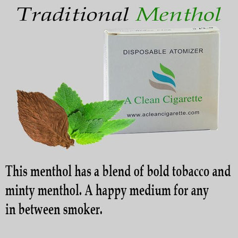 5-Pack of Traditional Menthol Cartridges