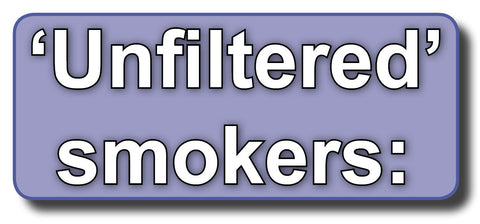 5-Pack Cartridges for Unfiltered Cigarette Smokers
