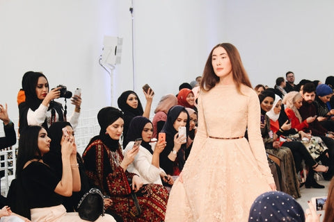 London Modest Fashion Week catwalk (MEE/Adam Omar)