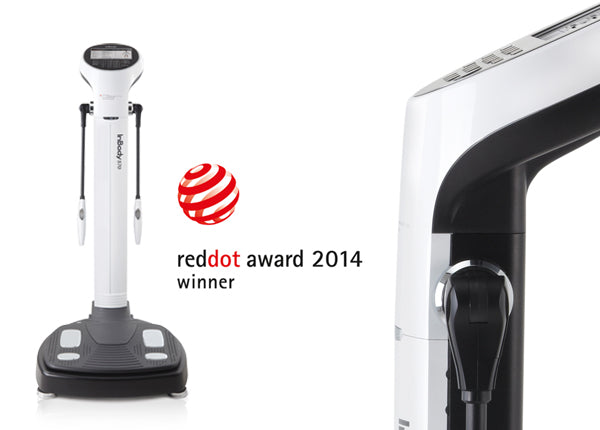 InBody570 Takes the Globally Recognized Red Dot Design Award