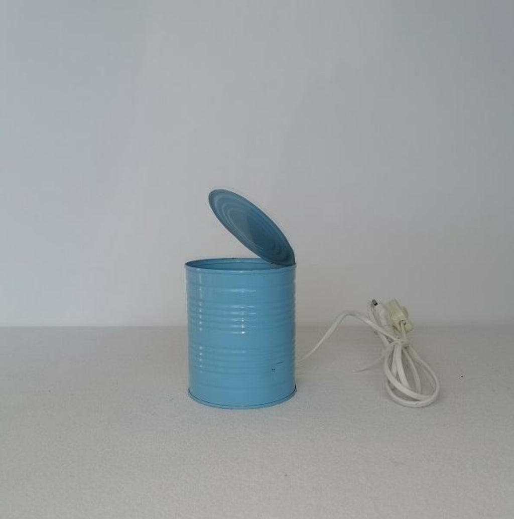 Vrieland Table lamp tin can
