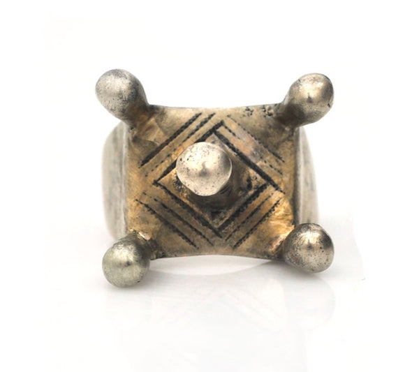 Tuareg Crown Ring