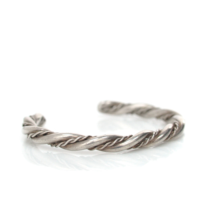 Sterling Rope Cuff