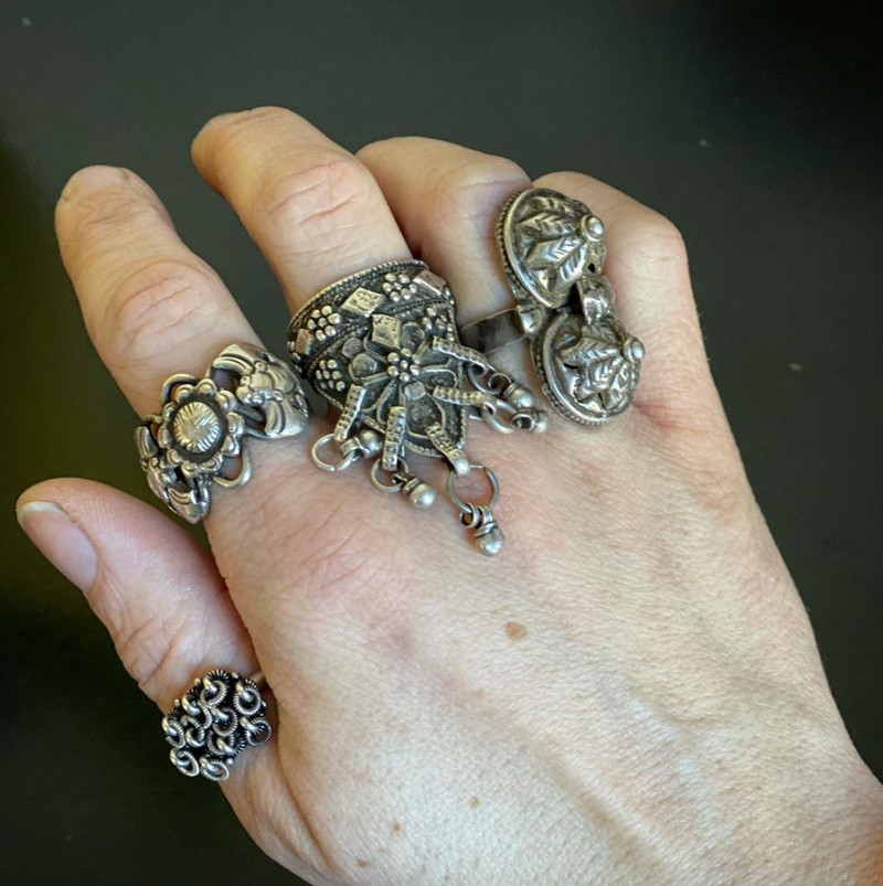 Chinese Bat Ring