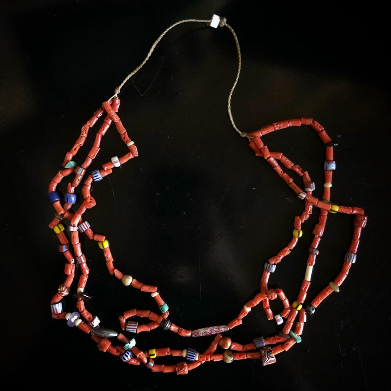 Native American Coral Necklace