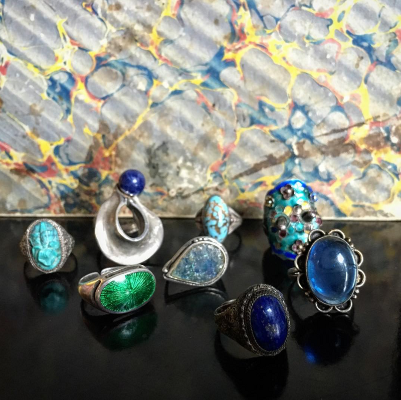 Chinese Lapis Ring