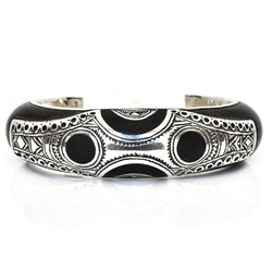 Ebony Moon Cuff