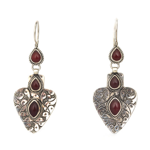 Turkmen Love Earrings