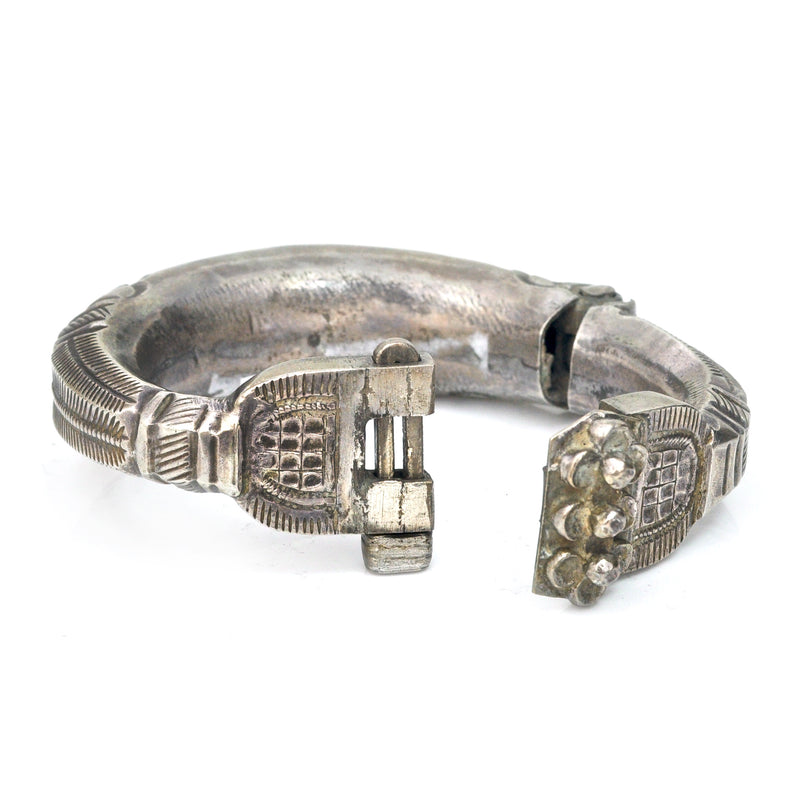 Hollow Form Afghan Bracelet
