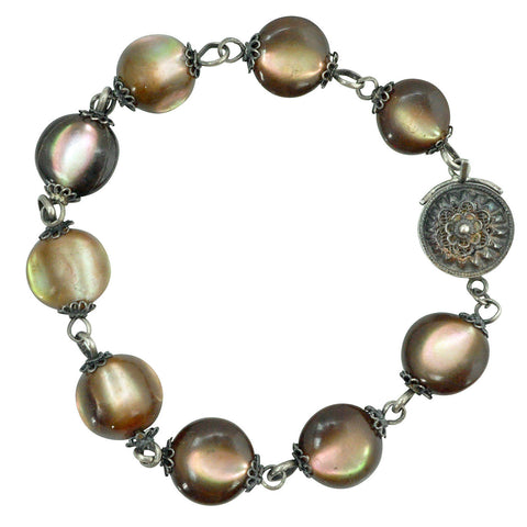 Bracelets - Chinese Mother Of Pearl Bracelet
