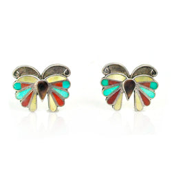 Butterfly Inlay Earrings