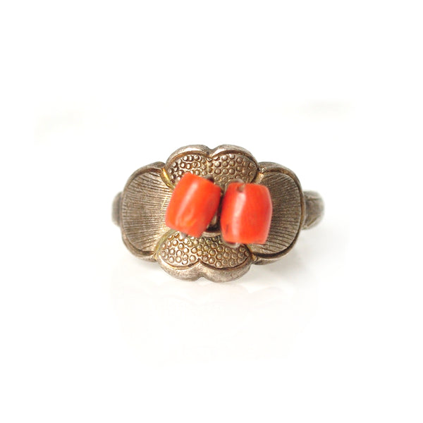 Chinese Coral Ring
