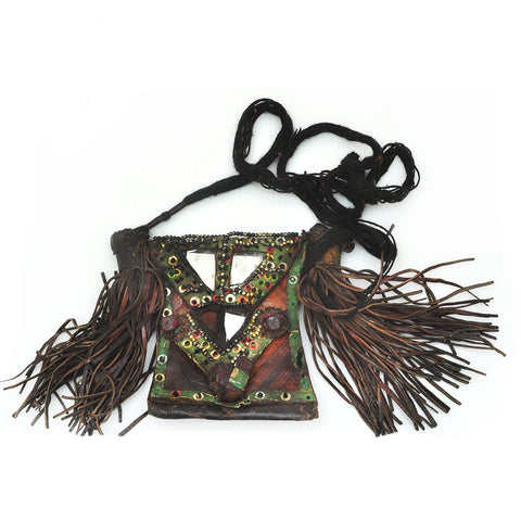 Leather Festival Bag