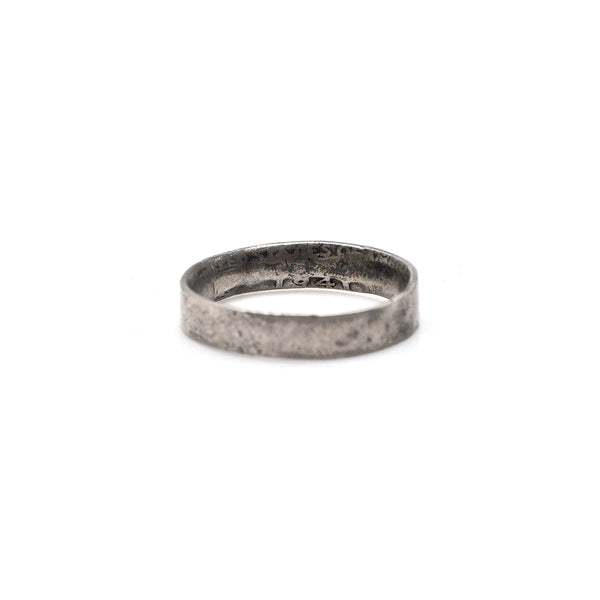 Trench Art Coin Ring