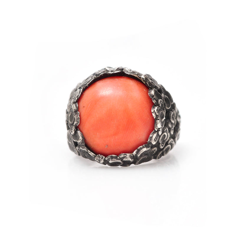 Coral Cloud Ring