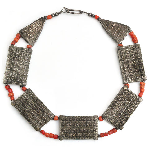 Yemen Coral Necklace
