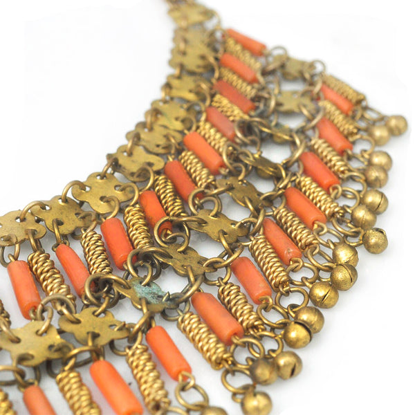 Egyptian Coral Necklace