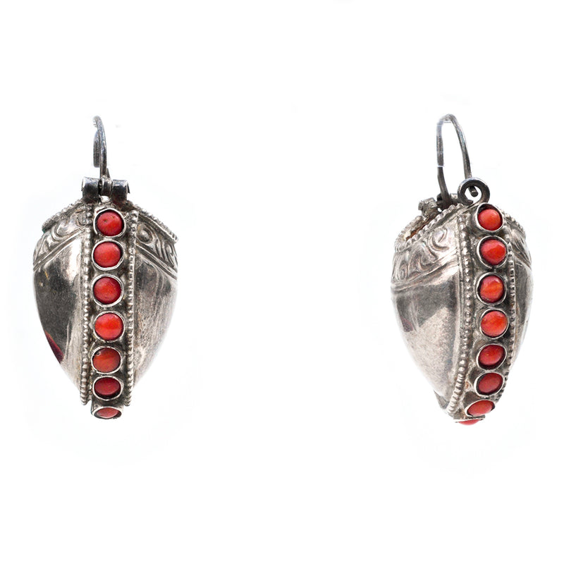 Coral Vessel Earrings