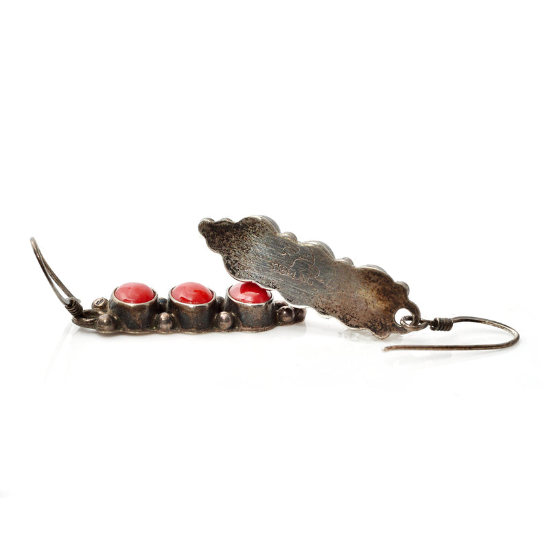Coral Totem Earrings