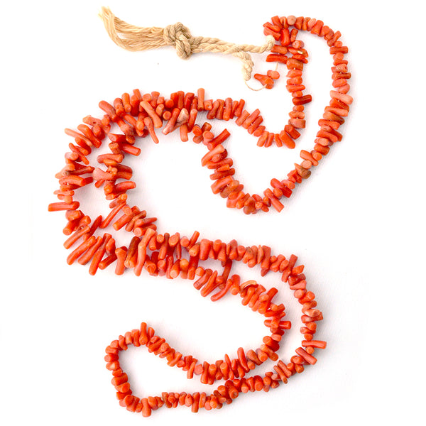 Antique Coral Branch Strand