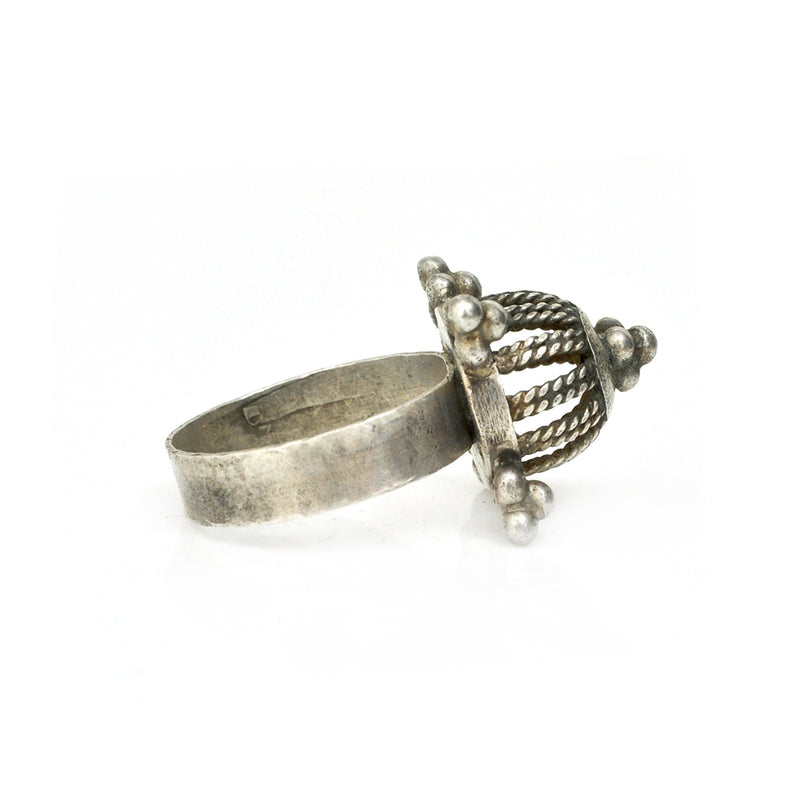 Dome Cage Ring