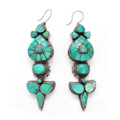 Earrings - Tibetan Akor Earrings