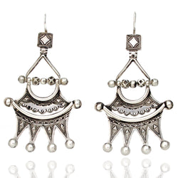 Earrings - Tuareg Crown Earrings