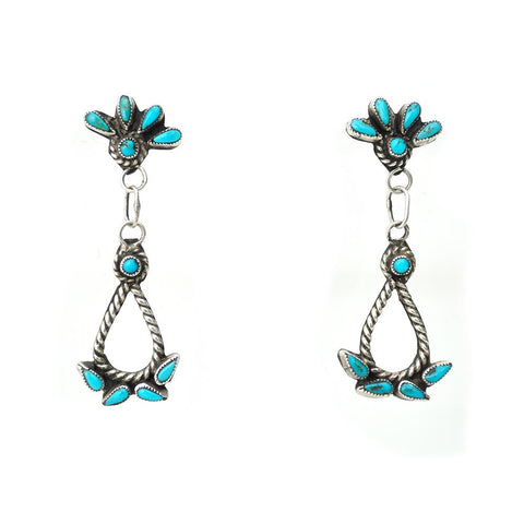 Earrings - Zuni Raindrop Earring