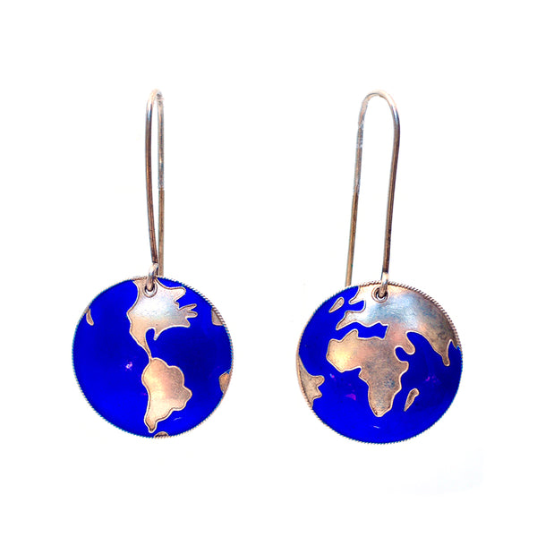 Earth From Above Earrings