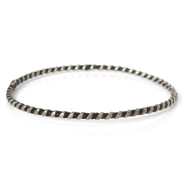 Elephant Hair Twist Bangle