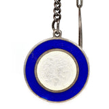 Enamel St. Christopher & Horseshoe